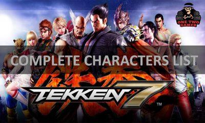Tekken 7 Characters list