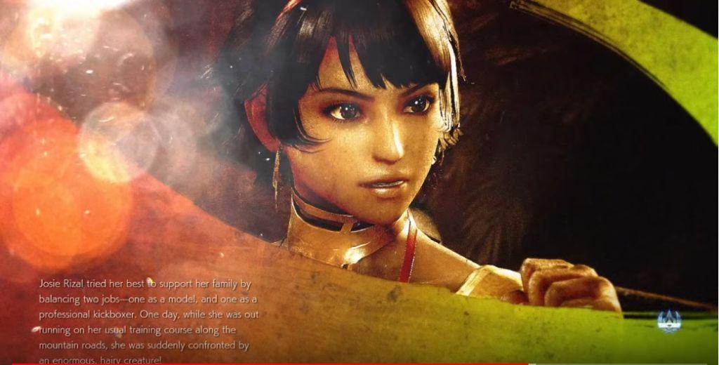 Tekken 7 Josie Rizal