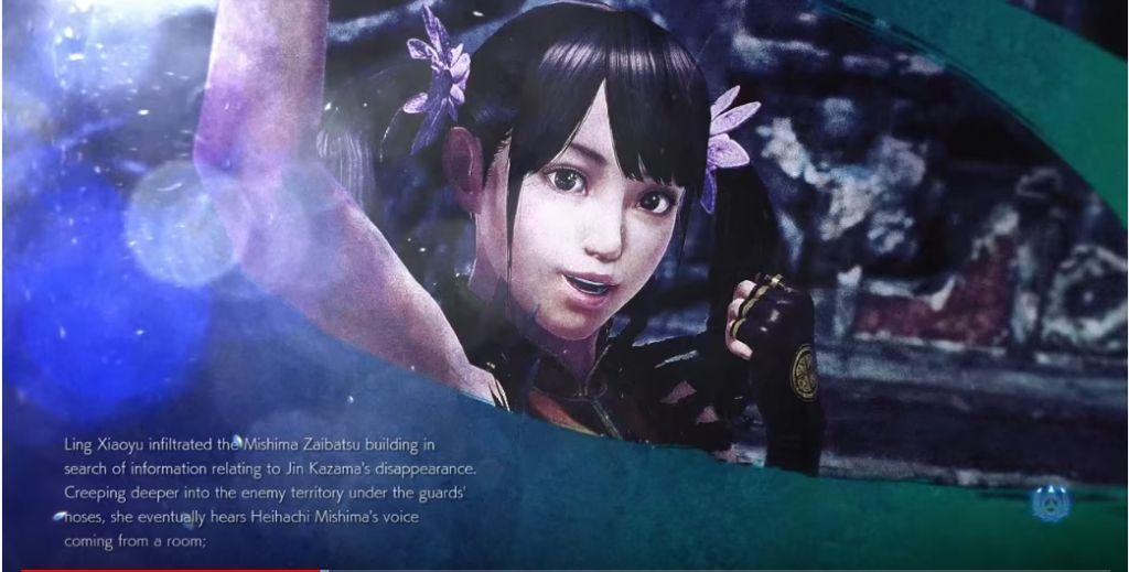Tekken 7 Ling Xiaoyu