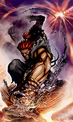 Akuma Street Fighter X Tekken