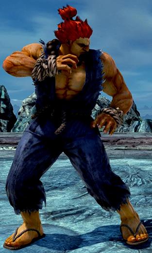 Akuma Player 1 outfit