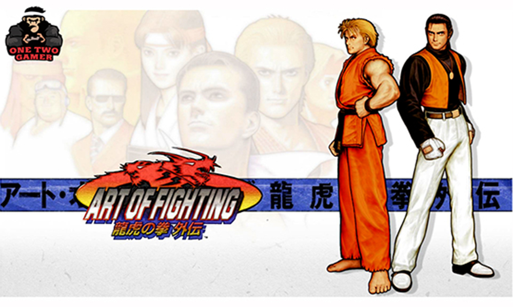 Art Of Fighting Snk Game Series One Two Gamer