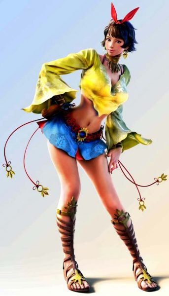 Josie Rizal Player 1 Outfit