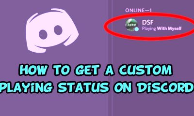 How to get custom discord status
