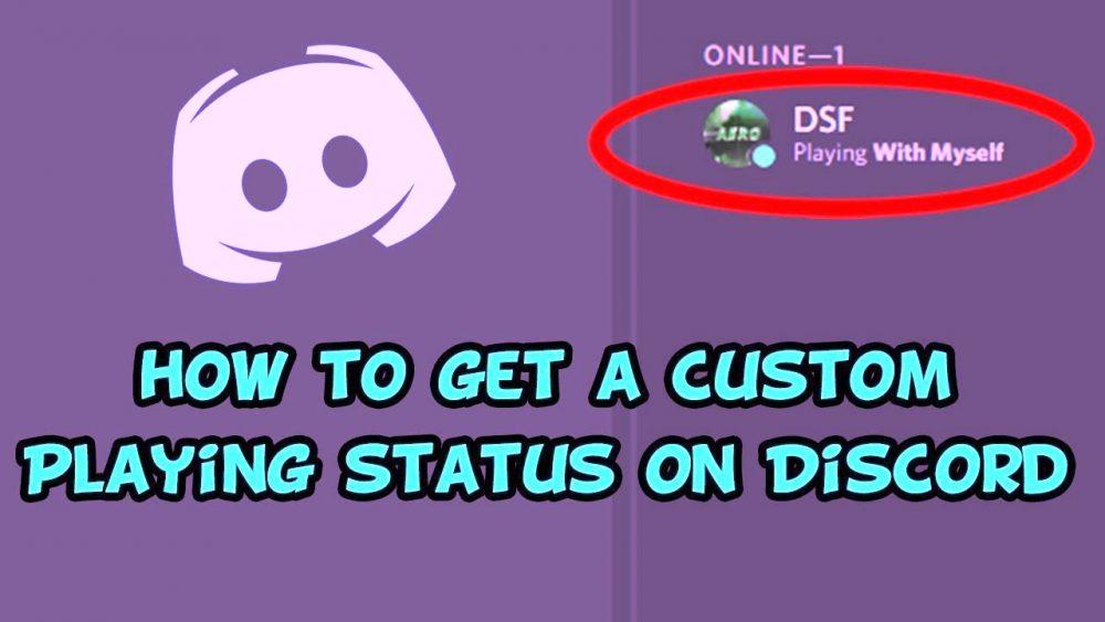 How to get custom discord status