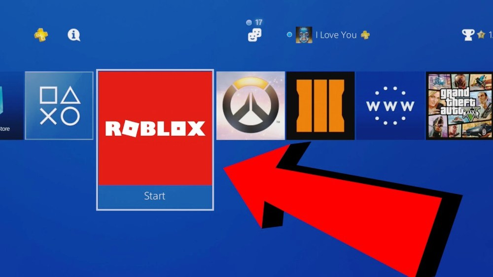 Roblox on PS4
