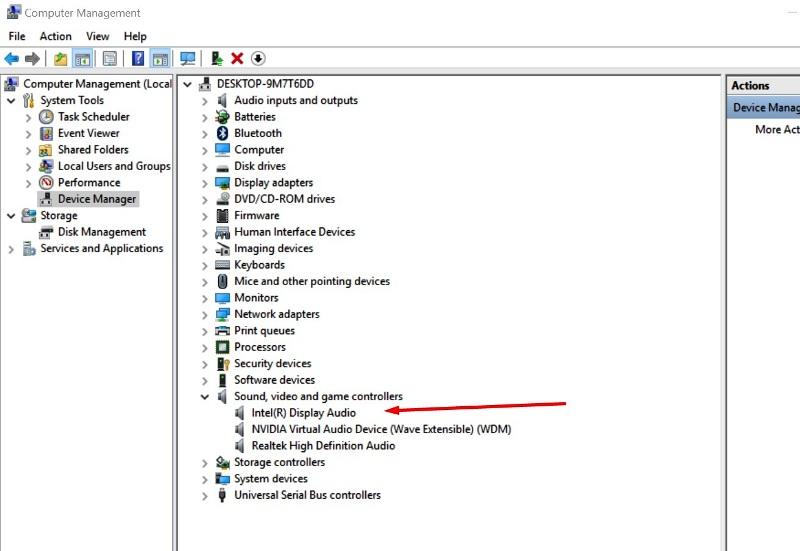 Windows 10 Audio Driver update
