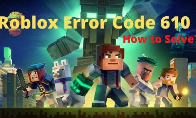 Roblox Error Code 610