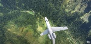 Greenry in microsoft flight simulator 2020