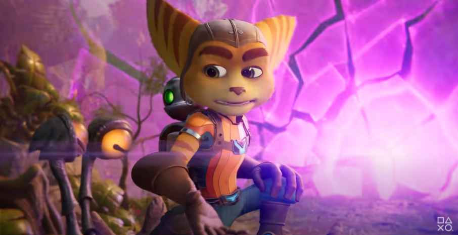 Ratchet and clank rift apart background