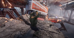 Hulk in marvel avengers game