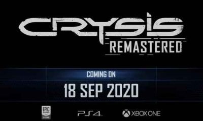 Crysis Remastered release