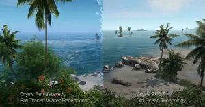 Crysis Remastered comparisson