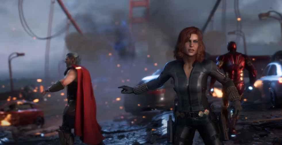 Marvel avenger heroes