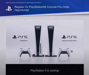 playstation 5 preorder