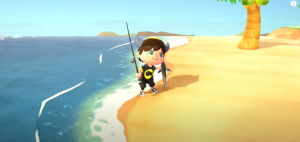 Sea in Animal crossing new Horizons