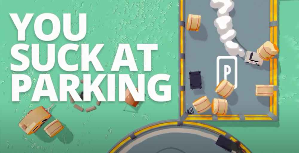 you suck at parking image