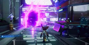 Ratchet & clank pink