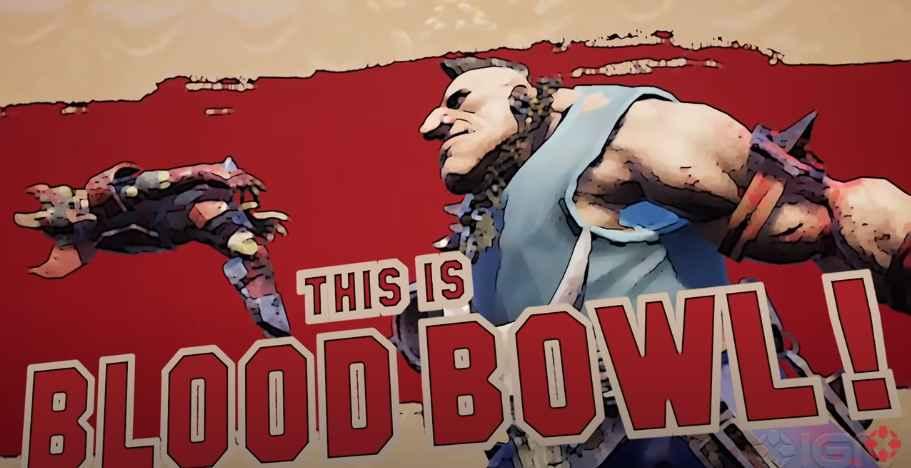 blood bowl 3 trailer