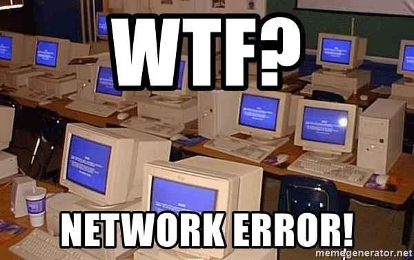 Warzone network error