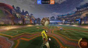 Rocket League Free To play goal