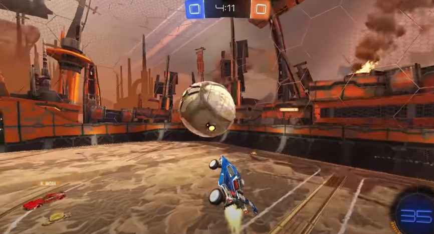 Rocket League free to play ball