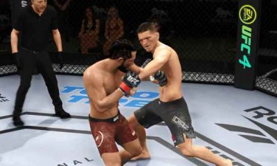 Fighting from ufc 4